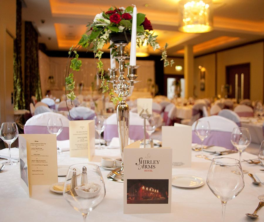 Weddings at Shirley Arms Hotel
